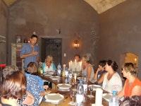 Chez Philip for lunch & Christof'w wine blurb