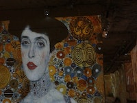 Famous Impressionist Art displayed on Box Cave walls 'Carriers de Luminers'